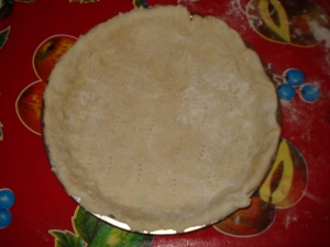 pâte brisée pour la quiche