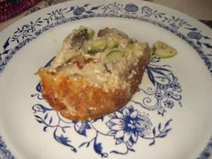 brunch blog cuisine pain perdu salé