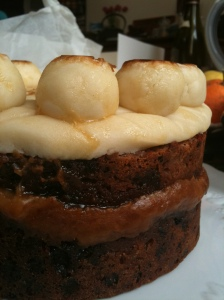 gateau anglais Simnel cake