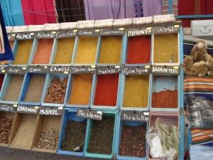 Les épices du marché de Tataouine