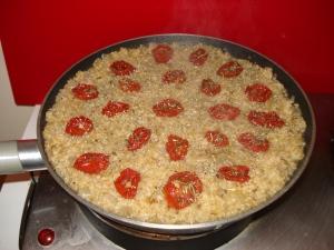 Boulgour aux tomates séchées