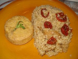 Boulgour et tomates séchées