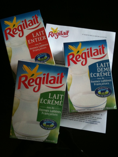 Concours Lait en poudre Régilait