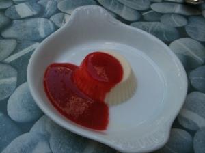 Blanc-manger à l'agar-agar