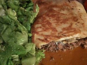 brick oeuf steak haché