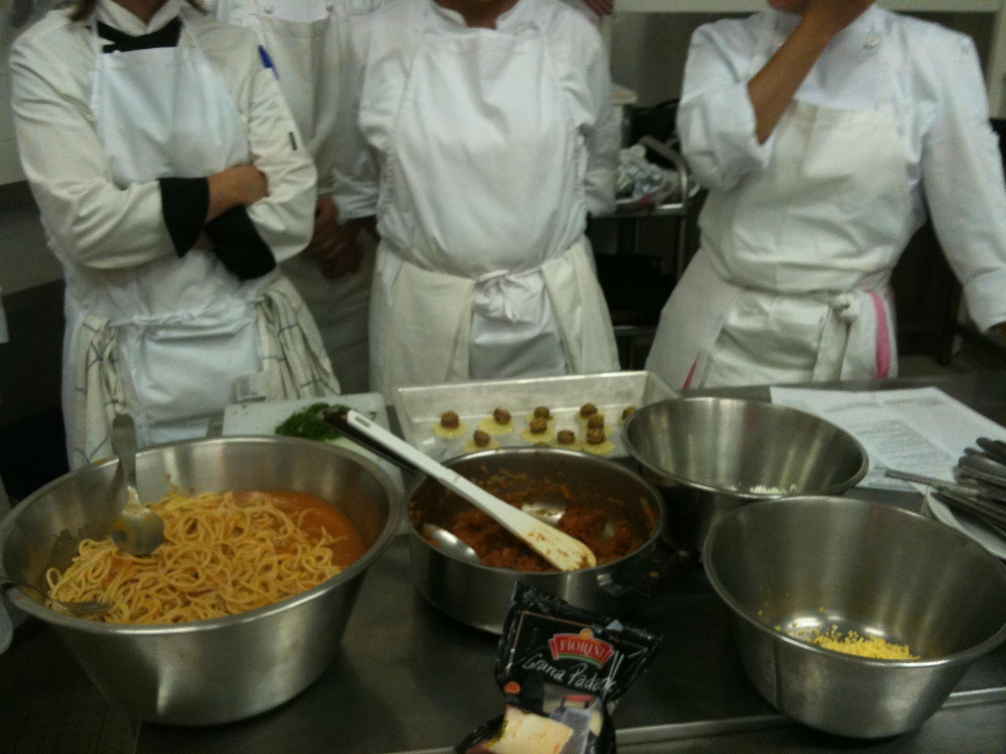 1er cours de cap de cuisine ! - over-cookée - Cours De Cuisine Cap