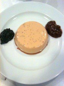 Crème Viennoise avec confitures