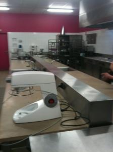 Salle de pâtisserie