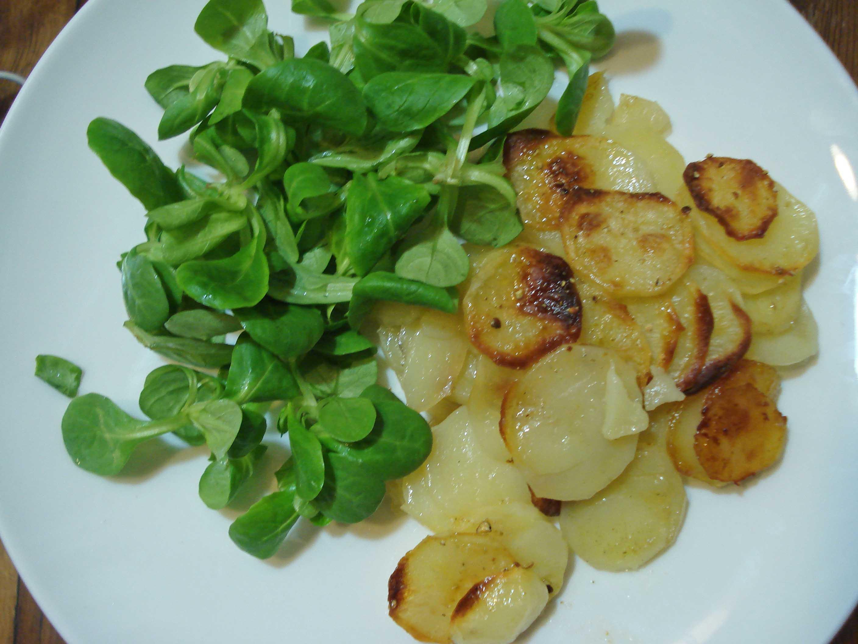 Recette de pommes de terre à l'huile de truffe, recette GuyDemarle, moule flexipan